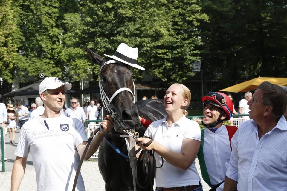 Lili Moon und Kerekes das Winning Team