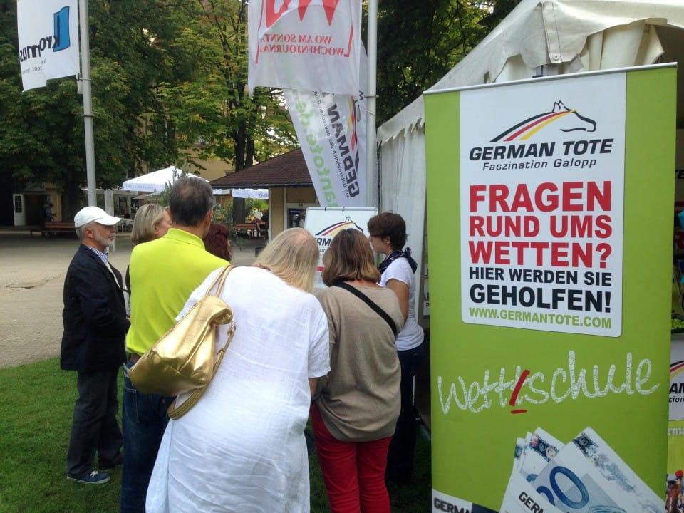 German Tote Wettschule goes Riem