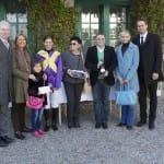 Marc Dassbach gratuliert dem Team Tenderness zum Sieg