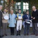 Carola Ortlieb und Dietrich von Boetticher gratulieren