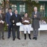 Siegerehrung im Campanologist-Rennen für Erich Pils