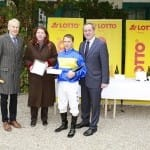 Josef Müller & Horst Gregor Lappe gratulieren Andreas Suborics