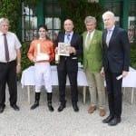 Hermann Bauer gratuliert Maxim Pecheur & Miltcho Mintchev