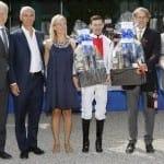 Siegereherung der Dallmayr Prodomo Trophy