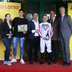 Galopprennbahn München Riem   Preis des Lotto in Bayern