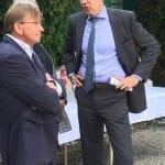 Werner Glanz und Horst-Gregor Lappe im Gespräch
