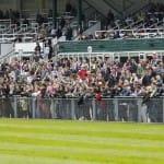 Voll besetzte Ränge - 7.000 Zuschauer kamen auf die Bahn
