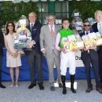 Siegerehrung für Darius Racing im Dallmayr Capsa-Rennen
